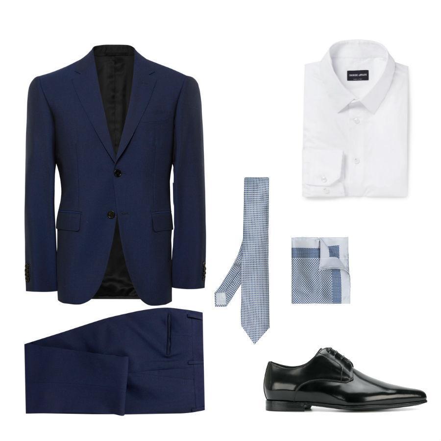 Look de estilo clásico para ir a una boda