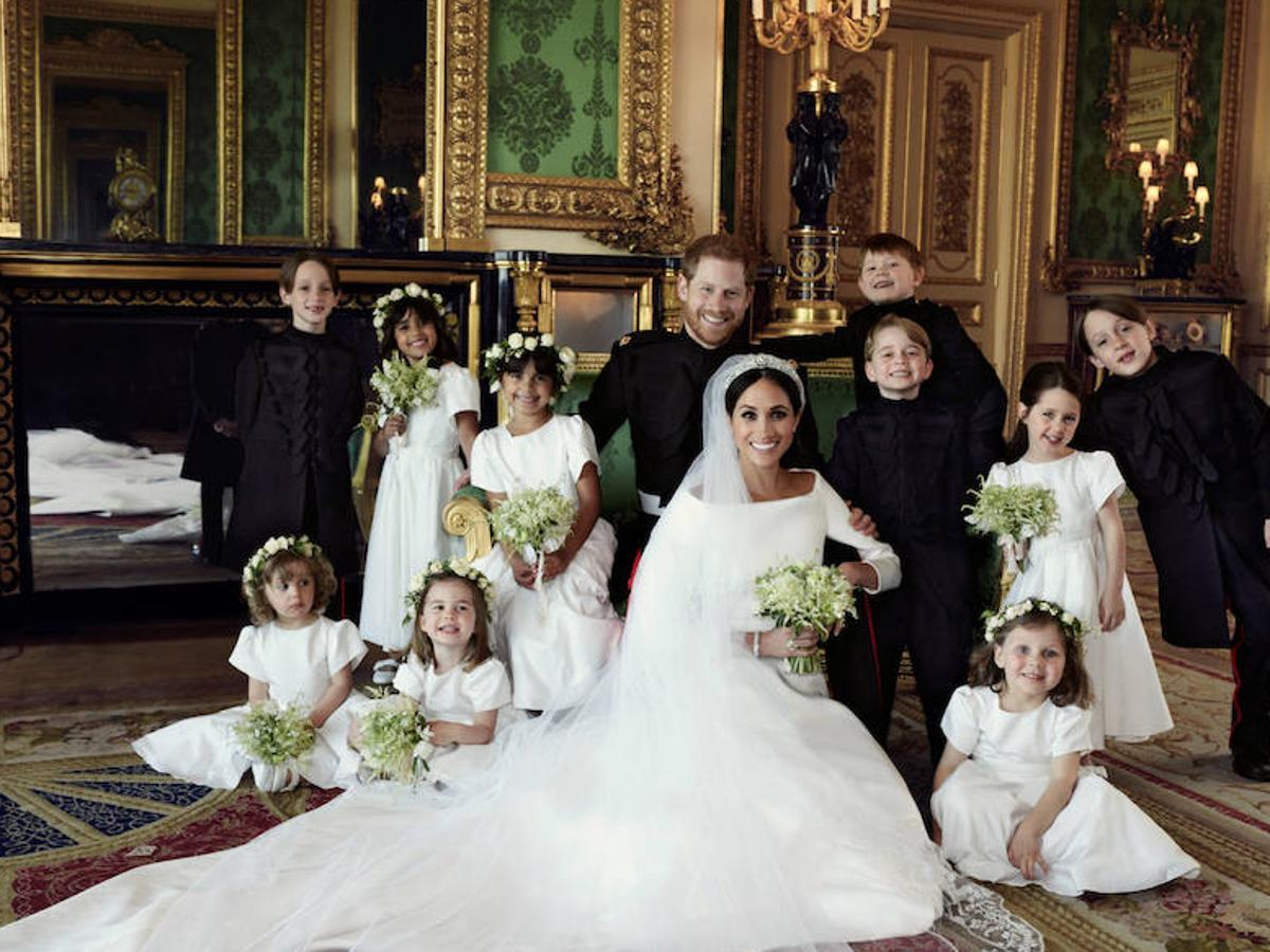 El Príncipe Harry de Inglaterra y Meghan Markle
