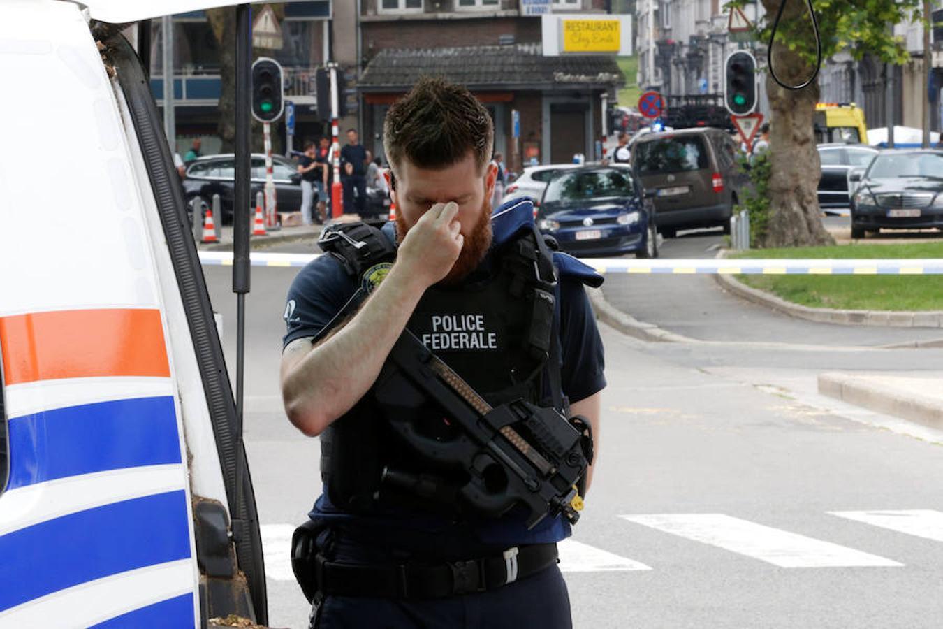 Un hombre mata a tres personas en Lieja (Bélgica), entre ellos dos policías