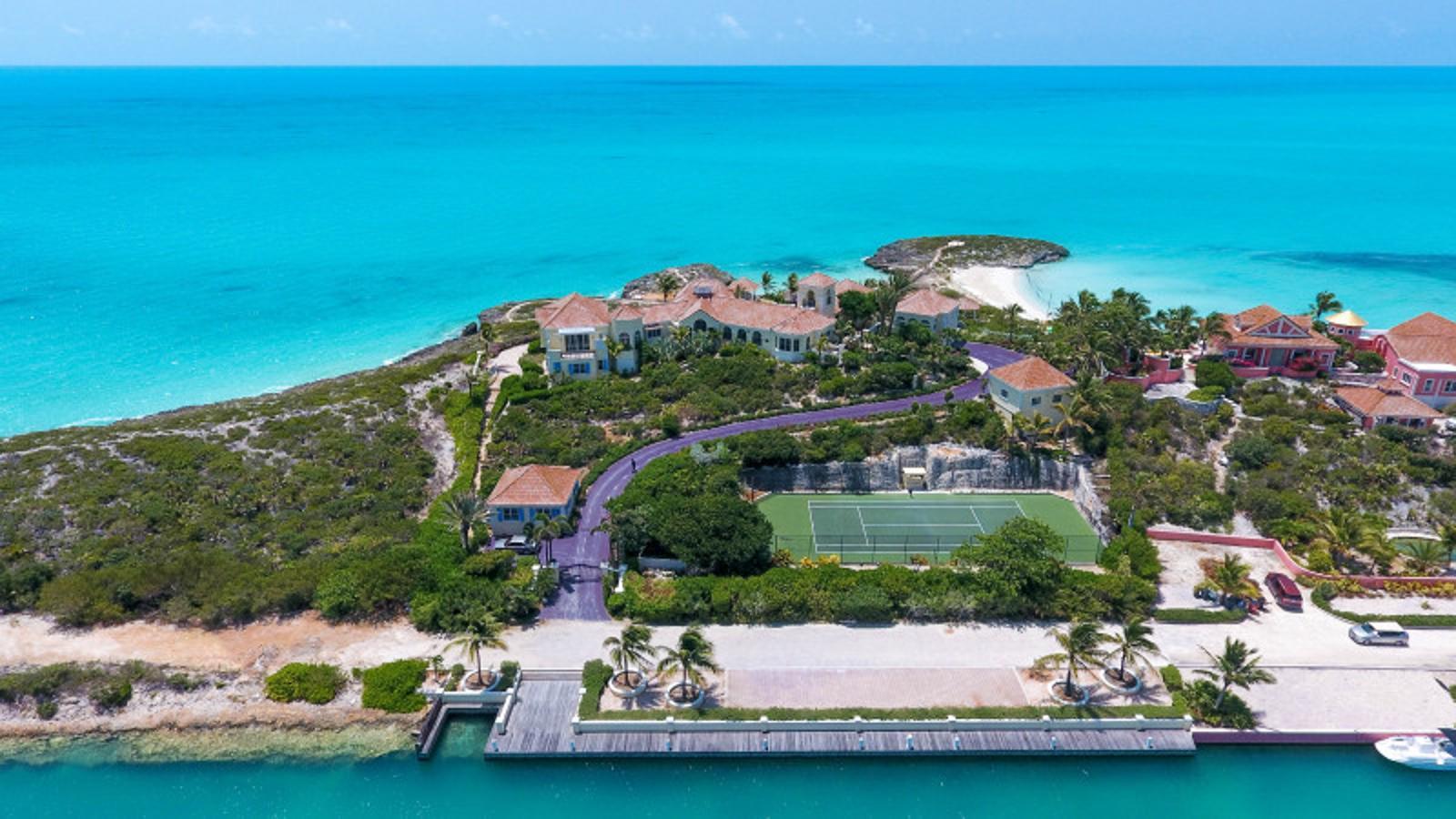 Así es la casa de la isla privada de Prince
