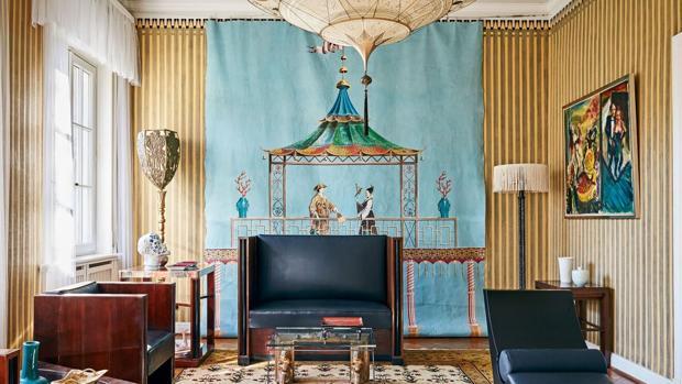 Así es la villa de lujo que vende Karl Lagerfeld