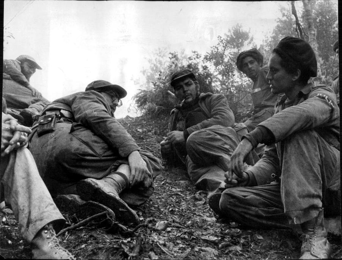 El Che momentos antes de ser ejecutado