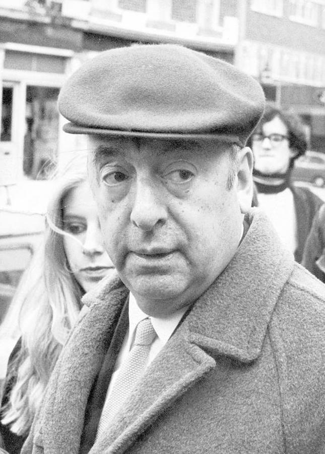 Retrato del poeta Pablo Neruda