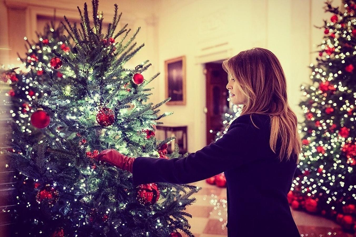 La Navidad ya ha llegado a la Casa Blanca