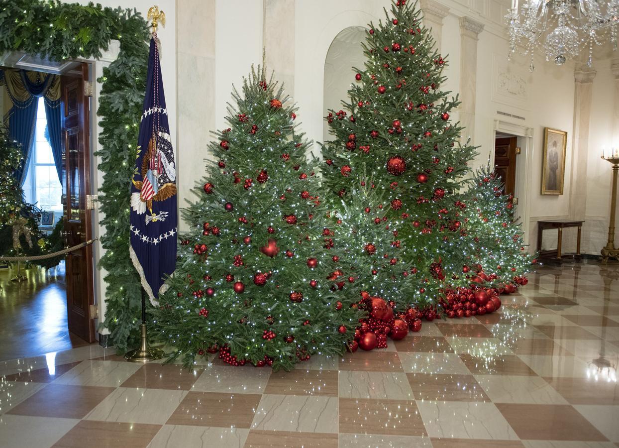 Larry Smith se ha encargado de proporcionar el árbol navideño