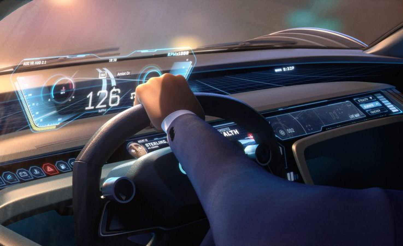 Espías con disfraz - Audi RSQ e-Tron