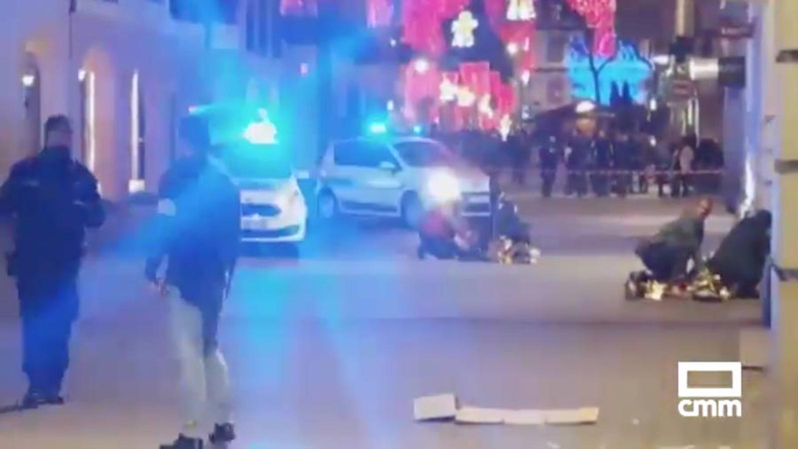 Imagen difundida tras el tiroteo en Estrasburgo