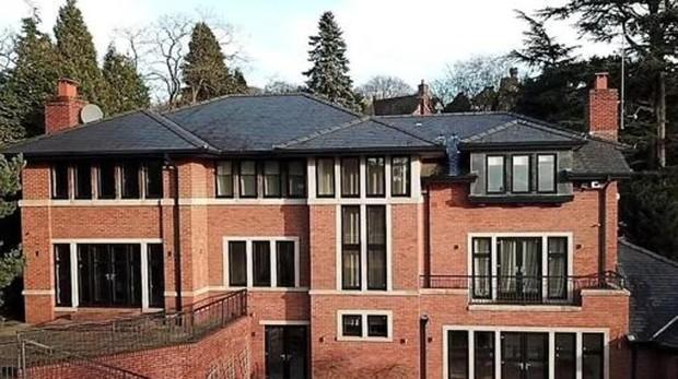 Así es la mansión que Cristiano Ronaldo vende en Manchester