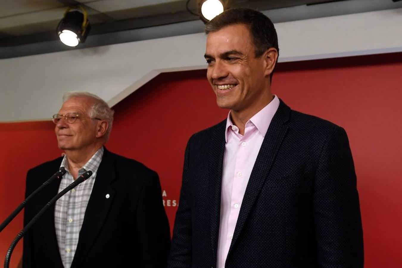 El PSOE ha sido el ganador de las elecciones europeas con un respaldo del 32,94% y 20 diputados, seguido por el PP con el 20,09% y 12 escaños
