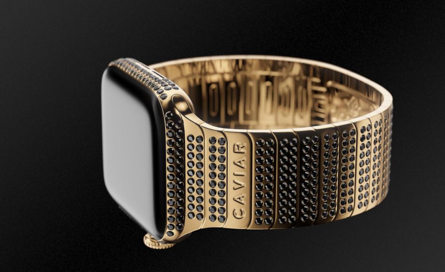 dabe6c2eb19 Así es el nuevo iPhone de oro con un Apple Watch incrustado