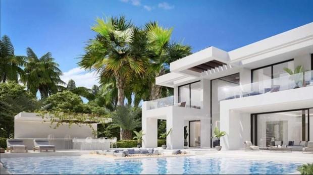 La mansión de lujo que Cristiano Ronaldo ha comprado en Marbella por 1,5 millones
