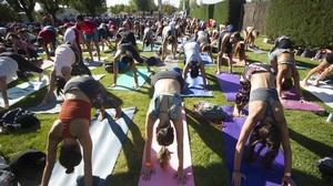 Así vivimos el macro encuentro de yoga, running y meditación