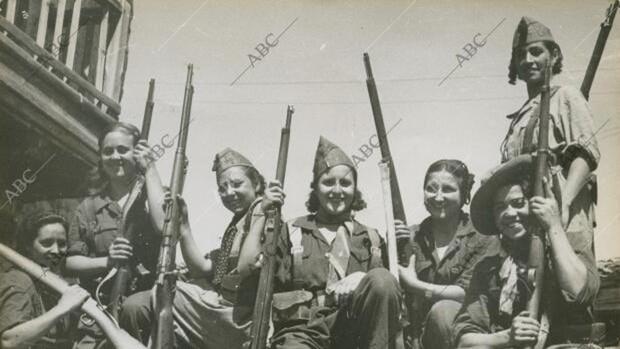 Mujeres de armas tomar en la Guerra Civil