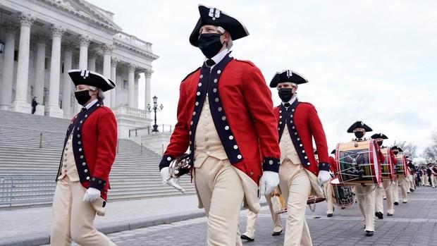 Washington se prepara para la investidura de Biden, en imágenes
