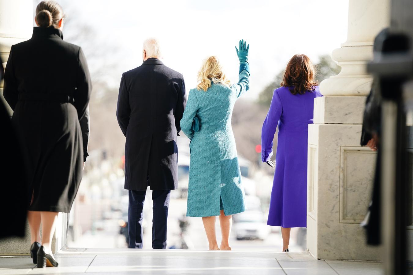 En imágenes: Así ha sido la investidura de Joe Biden y Kamala Harris