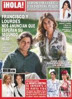 Fran Rivera y Lourdes Montes esperan su segundo hijo