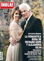 La boda de Richar Gere y Alejandra Silva