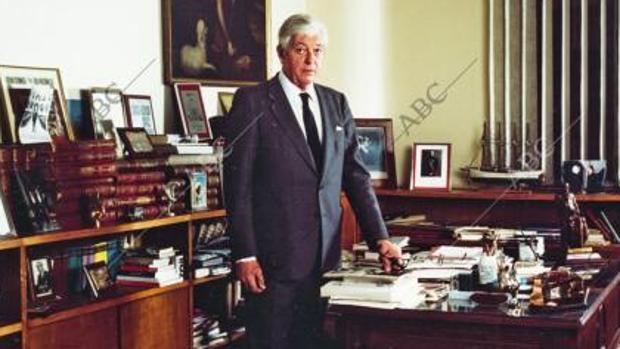 10 años sin Guillermo Luca de Tena, el gran editor