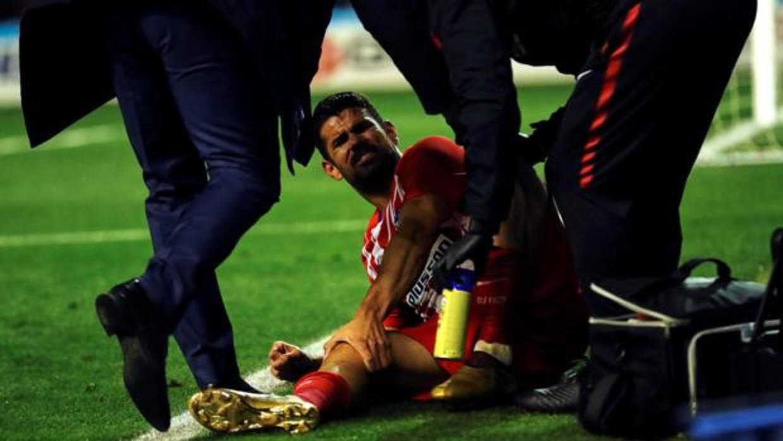 Diego Costa, gol y lesión en su regreso