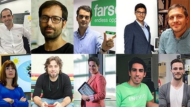 Diez innovadores españoles que darán que hablar