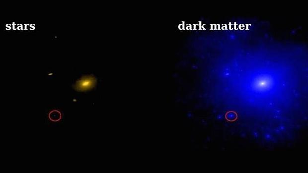 Resultado de imagen de La materia oscura donde esta