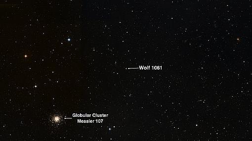 La estrella Wolf 1061