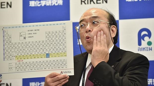 Completada la séptima fila de la tabla periódica con cuatro nuevos elementos