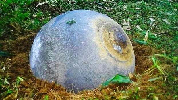 Las inquietantes «bolas del espacio» que han aterrizado en Vietnam