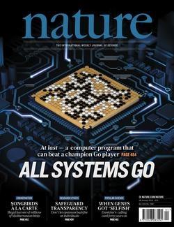 Portada de la revista «Nature»