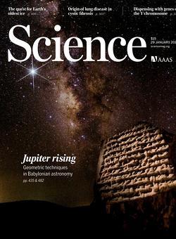 Portada de la revista «Science»