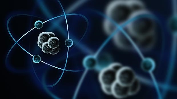 Recreación de unos átomos