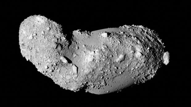 Imagen de archivo de un asteroide: el 25143 Itokawa