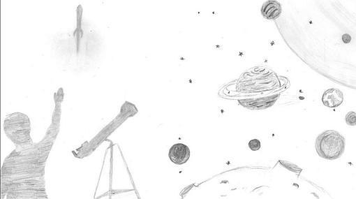 Los Dibujos De Los Niños Españoles Que Viajarán Al Espacio