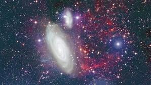 Hallada la galaxia de la «cola» monstruosa