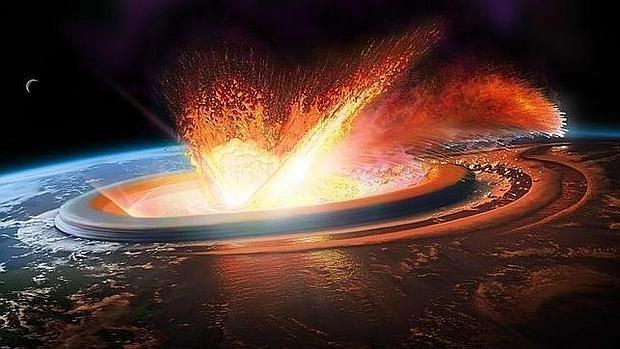 Un enorme meteoro provocó el cráter de Chicxulub, en México