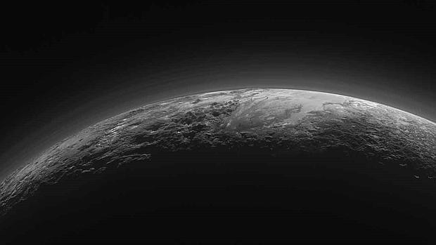 El planeta enano Plutón