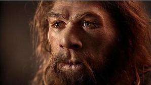 Reconstrucción de un neandertal, una especie muy cercana al Hombre de Denisova