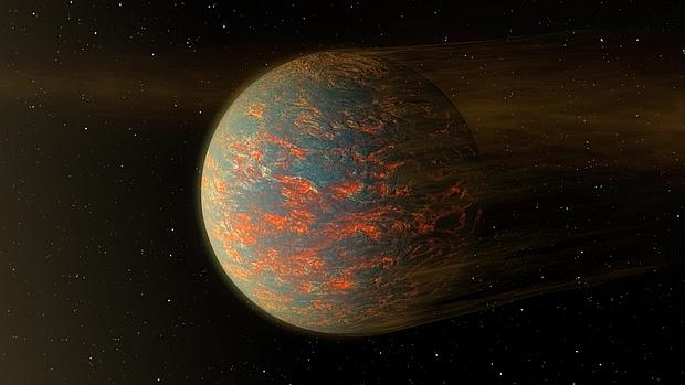 El planeta en el que hace tanto calor que se funde el hierro