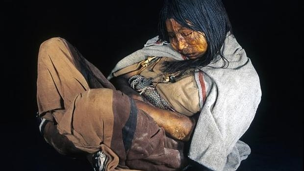 El ADN de la momia inca «La Doncella», hallada en el monte Llullaillaco, Argentina, en 1999, fue utilizado en el estudio