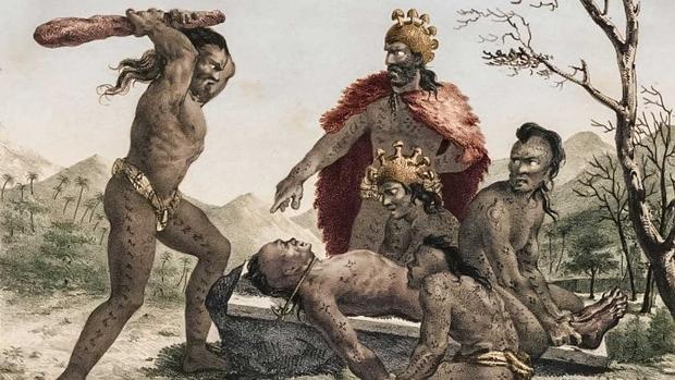 Los rituales incorporaban sacrificios humanos