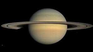 Saturno, visto por la nave espacial Cassini de la NASA en 2008