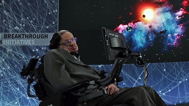Stephen Hawking, en la presentación de «Starshot»