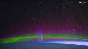 Captura del vídeo difundido por la agencia espacial