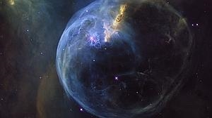 El Hubble fotografía una espectacular burbuja gigante en el espacio