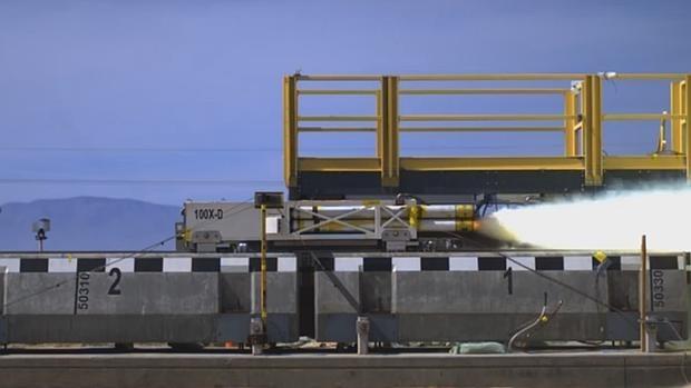 Así ruge un «tren volador» viajando a 1.000 kilómetros por hora