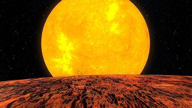 El Sol pudo engullir una primitiva supertierra