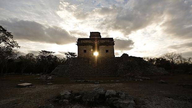 Ruinas mayas de Dzibilchaltún, en el estado mexicano de Yucatán