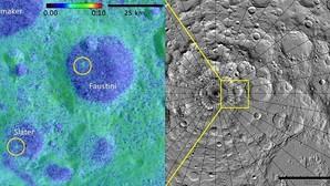 Descubren dos nuevos cráteres en la cara oculta de la Luna