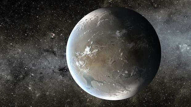 Recreación de Kepler-62f