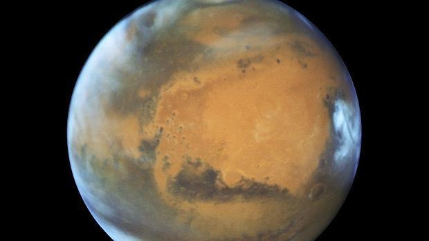 Marte estará hoy a su mínima distancia de la Tierra